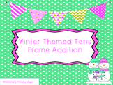 Winter Tens Frame Addition