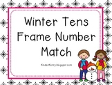 Winter Tens Frame Match
