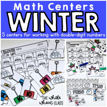 Winter Tens and Ones Centers