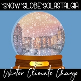 Winter Test Prep : A winter writing prompt about climate change + test prep