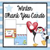 Thank You Notes- Winter Theme- Editable
