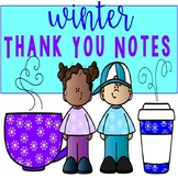 Winter Thank You Notes Freebie