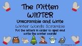 Winter & The Mitten Word Scrambles
