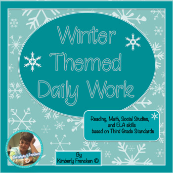 Winter Themed Daily Reading Lessons