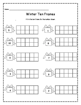 Winter Theme Activity Pack