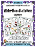 Winter Themed CVC Lotto Game