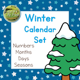 Winter Theme Calendar Set