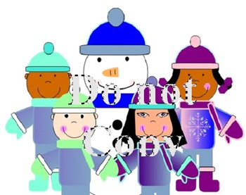 Winter Theme Clip Art