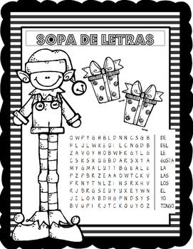 Stem en espanol:  Winter Theme Interactive Notebook