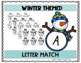 Winter Theme Letter Match