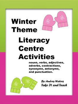 Winter Theme  Literacy Centre  Activities