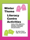 Winter Theme  Literacy Centre  Activities