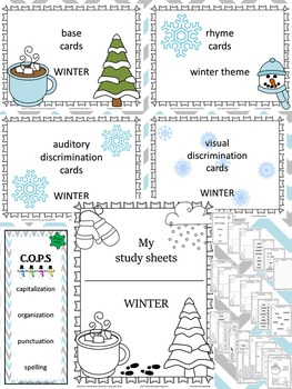 Build a Better Reader! Literacy Sub-Skills Practice (Winter Theme)