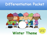 Winter Theme Phonics Games Packet