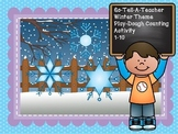 Winter Theme Playdough Counting 1-10