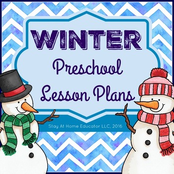 Winter Theme Preschool Lesson Plans