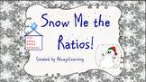 Winter Theme Ratio Task Cards: Snow Me The Ratios!
