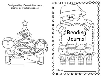 Winter Theme Reading Journal