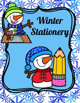 Winter Theme Stationery
