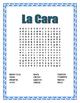 Winter Theme- The Face-La Cara- Vocabulary & Label & Word Search Unit-Spanish