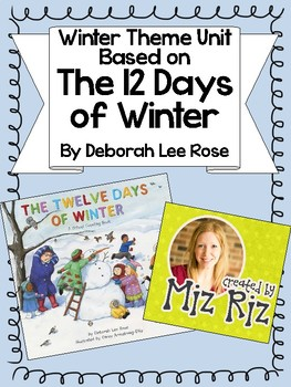 Winter Theme Unit: The 12 Days of Winter