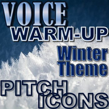 Winter/Christmas Theme Voice Warm-up - Elementary Music - Pitch Icons So Mi La