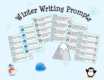Winter Theme Writing Prompts