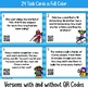 Winter Themed 3rd Grade Math Mixed Practice Task Cards Wit