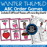 Winter Themed ABC Order Activities