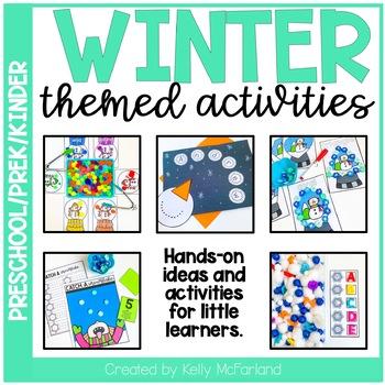 winter themed activities preschool pre k kindergarten tpt. Black Bedroom Furniture Sets. Home Design Ideas