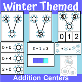 Winter Themed Addition Centers and Activities for Kindergarten