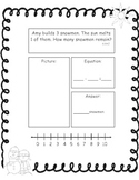 Winter Themed Addition and Subtraction Story Problems