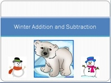 Winter Themed Addition and Subtraction
