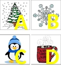 Winter Themed Alphabet Letters
