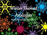 Winter Themed Analogies for Middle and High School Students