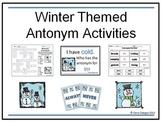 Winter Themed Antonym Game Pack