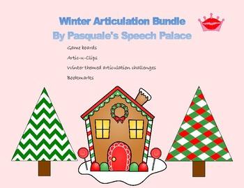 Winter Themed Articulation Bundle