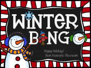 Winter Themed BINGO