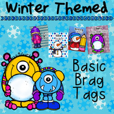 Winter Themed Basic Behavior Tags