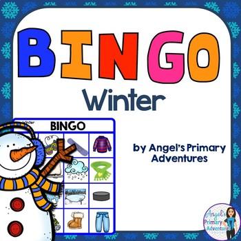 Winter Themed Bingo Game