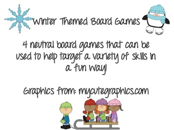 Winter Themed Board Games
