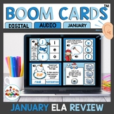 Winter Themed Boom Cards Bundle ELA