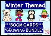 Winter Themed Boom Cards GROWING BUNDLE for Speech Therapy