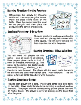 R Controlled Vowels - Winter Themed Bundle