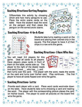 Vowel Teams - Winter Themed Bundle