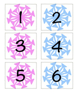 Winter Themed Calendar Cards~ Snowflake, Christmas, Valentine's Day
