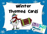 Winter Themed Cards (Set of 31 Cards)