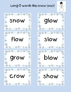 Winter Themed Centers