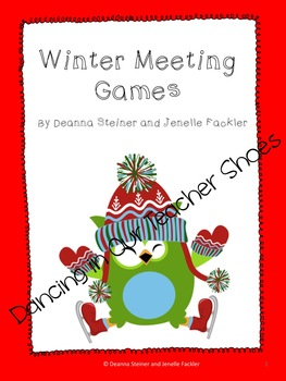 Winter Themed Classroom Meeting Games