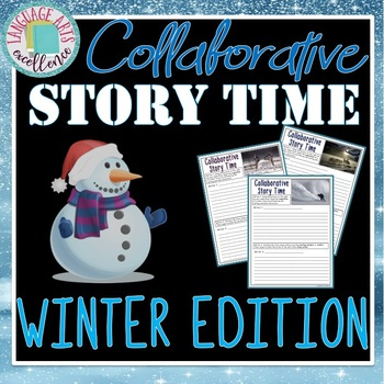 Winter Themed Collaborative Writing Activity